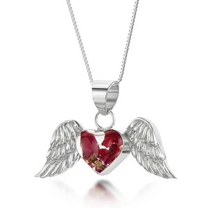 Silver Pendant - Bohemia - Angel Wings