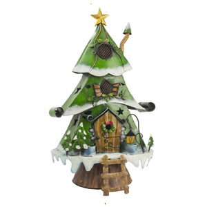 Christmas Tree House (Small) Garden Ornament