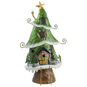 Christmas Tree House (Large) Garden Ornament
