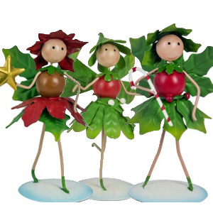 Christmas Fairy Collection Garden Ornament Pack