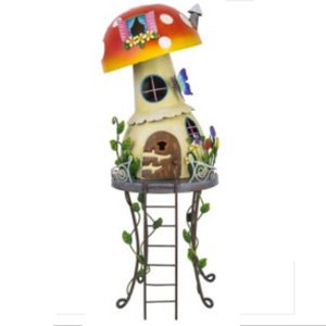 Fairy Toadstool House Garden Ornament
