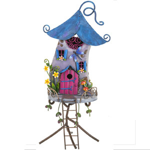 Fairy Fantasy Bluebell House Garden Ornament