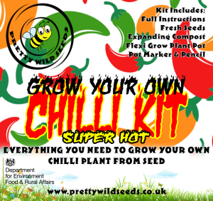 Grow Your Own Chilli Kit Super Hot