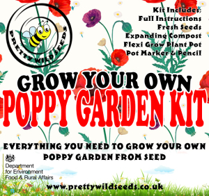Grow Your Own Poppy Garden Kit