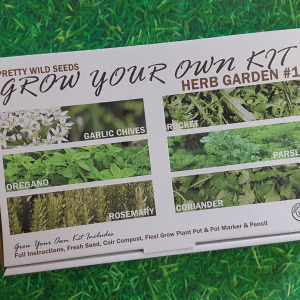 Grow Your Own Herb Garden Kit Selection 1