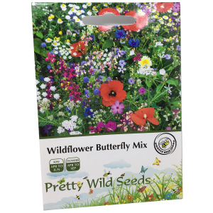 Wildflower Meadow Pure Mix Seeds In Pictorial Packets